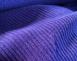 Purple Knitted